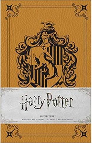 Harry Potter: Hufflepuff Ruled Pocket Journal (Insights Journals) - (HB)