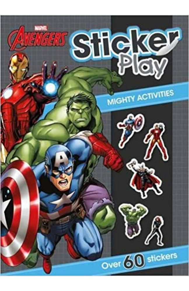 Marvel Avengers Sticker Play Mighty Activities: Over 60 stickers