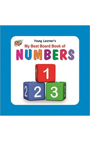 My Best Board Book of Numbers - (BB)