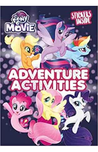 My Little Pony Movie: Activity Book with Stickers - Paperback