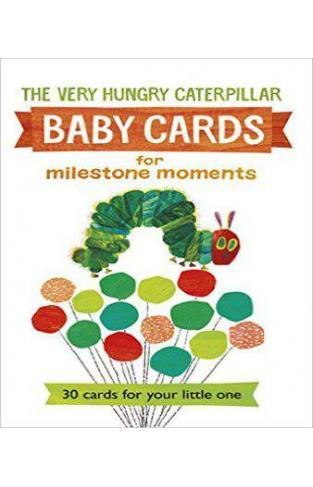 Very Hungry Caterpillar Baby Cards for Milestone Moments - (HB)