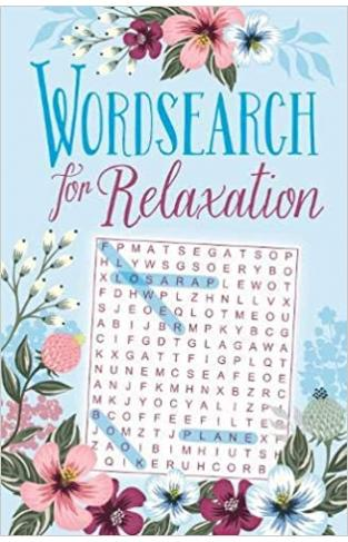 Wordsearch for Relaxation (192pp royal puzzles) - Paperback