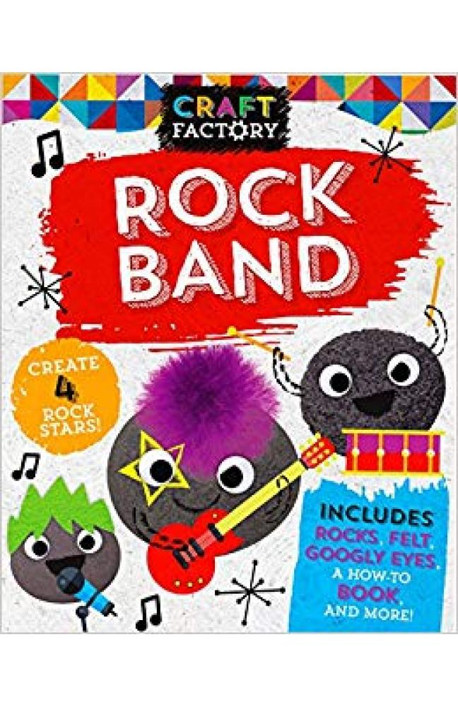 Craft Factory Rock Band: Create 4 Rock Stars!