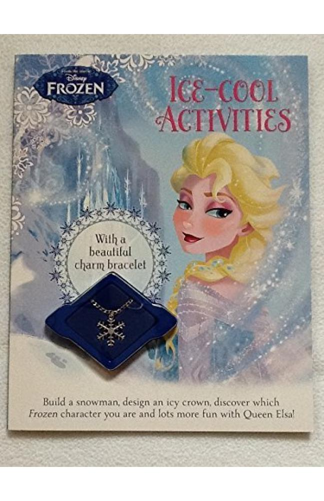 DISNEY FROZEN Ice-Cool Activities with A Beautiful Charm Bracelet by Parragon