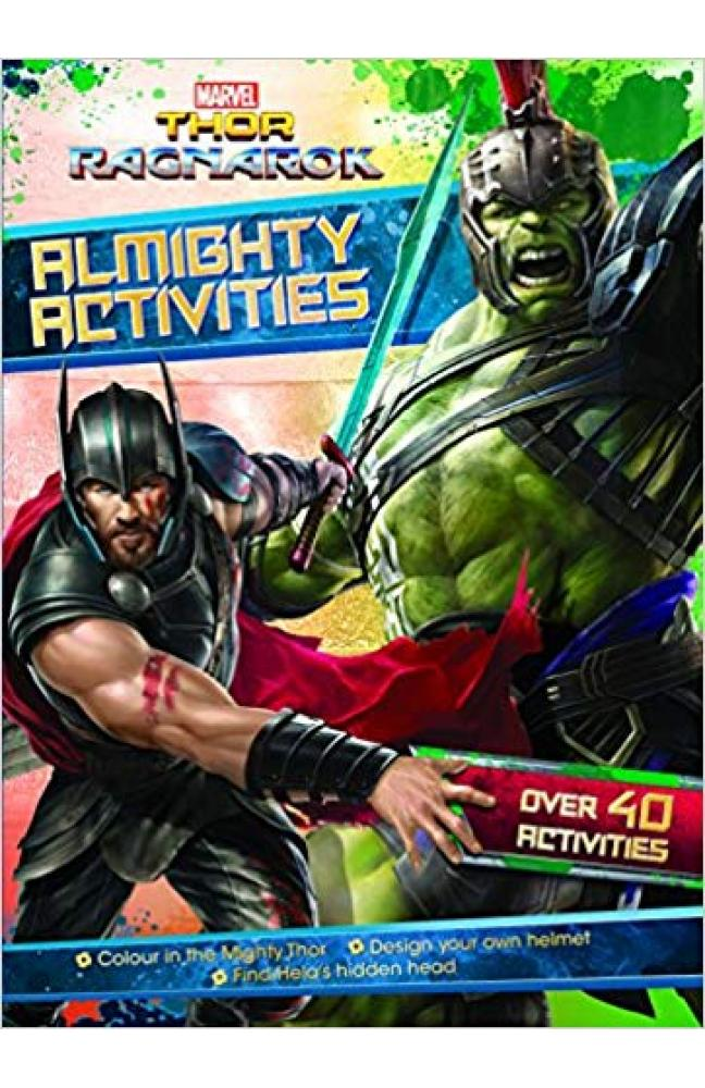 Marvel Thor Ragnarok Almighty Activities