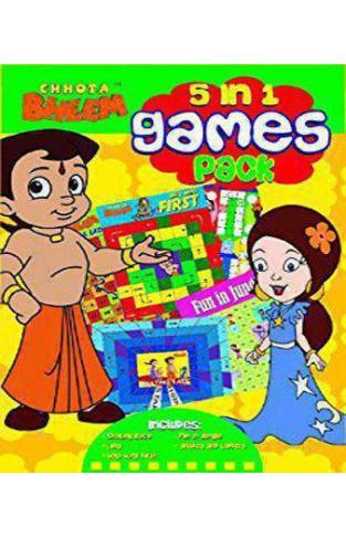 Chota Bheem  5 in 1 GAMES PACK