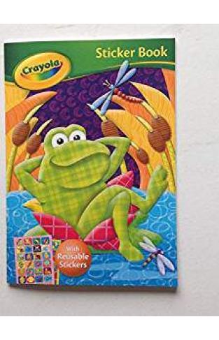 Crayola Sticker Book Frog