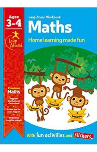 Leap Ahead Workbook: Math Age 3-4