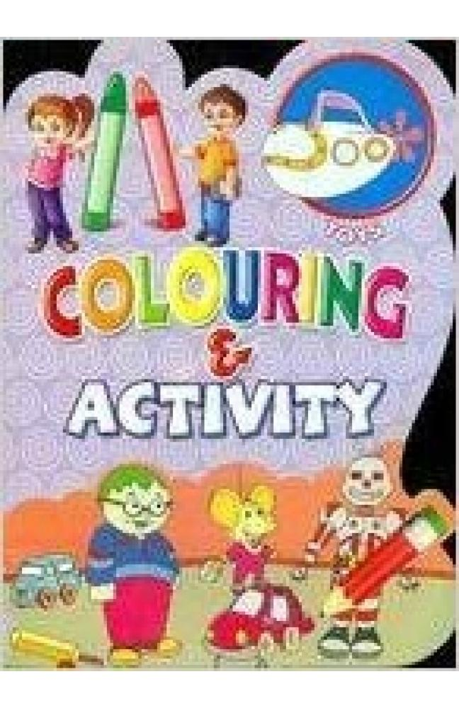 Colouring & Activity - Toys