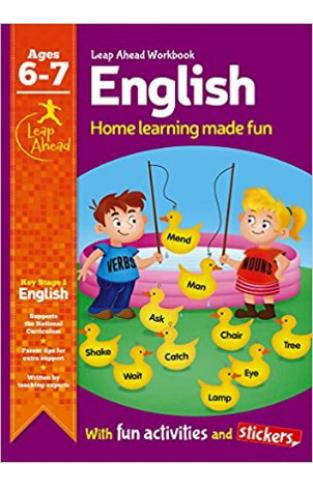 Leap Ahead Workbook: English Age 6-7