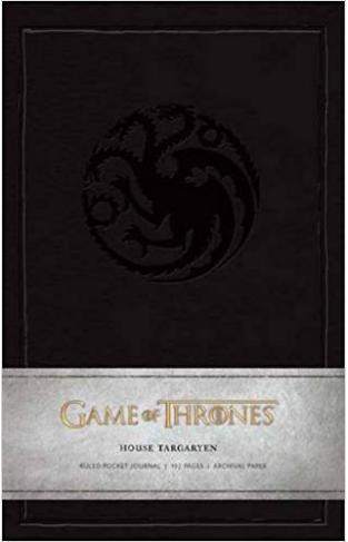 Game of Thrones House Targaryen Ruled Pocket Journal