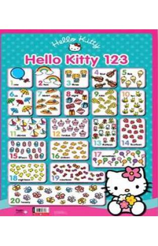 Hello Kitty Wall Chart 123