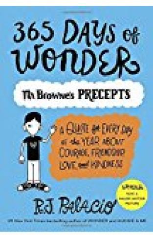 365 Days Of Wonder: Mr. Browne's Precepts