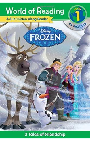 World Of Reading: Frozen Frozen 3-in-1 Listen-along Reader (world Of Reading Level 1): 3 Royal Tales With Cd!