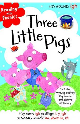 Reading With Phonics: Three Little Pigs [paperback] [jan 01, 2016] Na