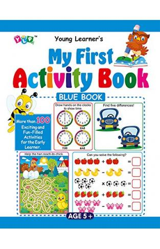 My First Activity Book - Yellow