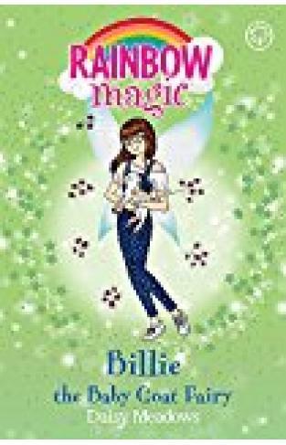 Billie The Baby Goat Fairy: The Baby Farm Animal Fairies Book 4 (rainbow Magic) - (PB)