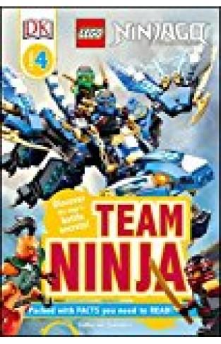 Dk Readers L4: Lego Ninjago: Team Ninja: Discover The Ninja's Battle Secrets! (dk Readers Level 4) - (PB)