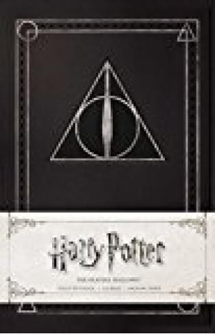 Harry Potter: The Deathly Hallows Ruled Notebook Paperback