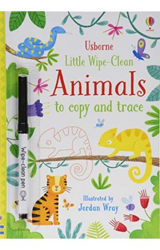 Little Wipe-clean Animals To Copy And Trace - (PB)