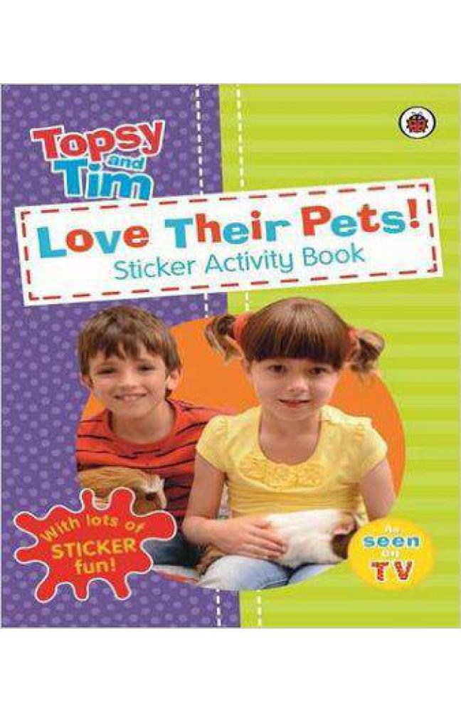 Look After Their Pets a Ladybird Topsy and Tim Sticker Book - Paperback