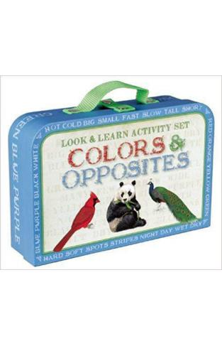 Look & Learn Activity Set: Colors & Opposites (Look and Learn Activity)