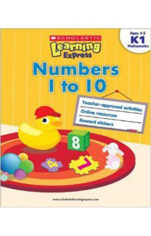 Numbers 1 to 10 K1 (Scholastic Learning Express)