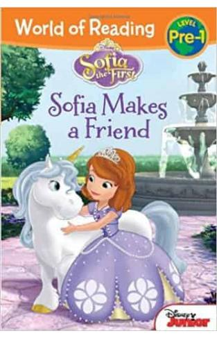 Sofia the First: Makes a Friend (World of Reading: Level Pre-1)