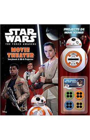 Star Wars: The Force Awakens: Movie Theater Storybook & BB-8 Projector -