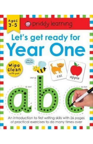 Let'S Get Ready for Year One : Wipe Clean Workbooks