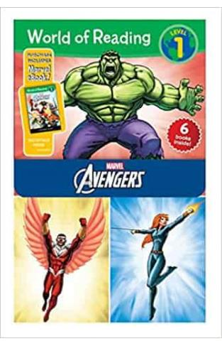 World of Reading Avengers Boxed Set: Level 1 (World of Reading: Level 1)