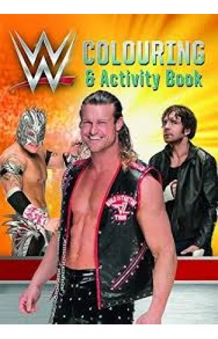 WWE Colouring and Activity Book