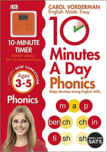 10 Minutes A Day Phonics Ages 3-5 Key Stage 1 (Made Easy Workbooks)  - (PB)