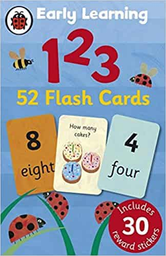 Early Learning 123 Flashcards