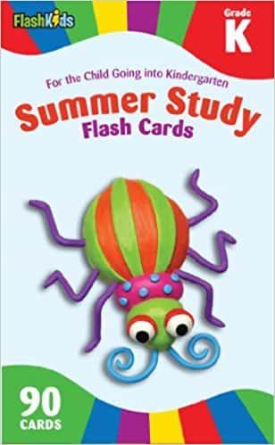 Summer Study Flash Cards Grade K (Flash Kids Summer Study)