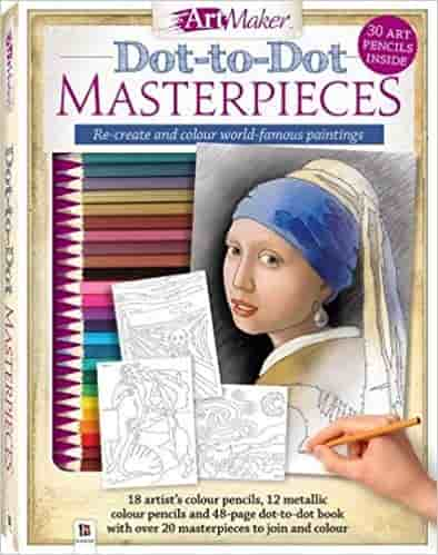 Art Maker Dot-to-Dot Masterpieces Kit (portrait)