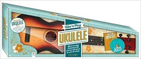 Uke'n Play Ukulele Kit (triangle box, revised art)