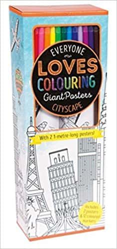 Colouring Poster Box: Cityscape