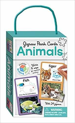 Animals: Jigsaw Flash Cards