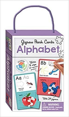 Alphabet: Jigsaw Flash Cards