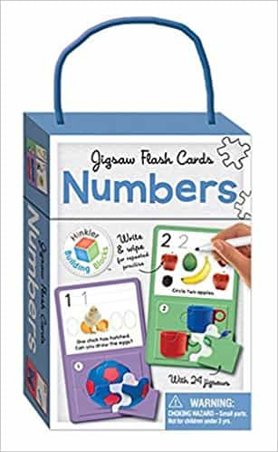 Numbers: Jigsaw Flash Cards