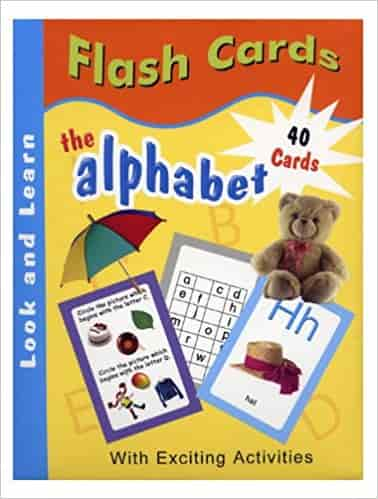 The Alphabet Flash Cards (ABC)