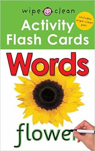 Words (Wipe Clean Activity Flash Card)