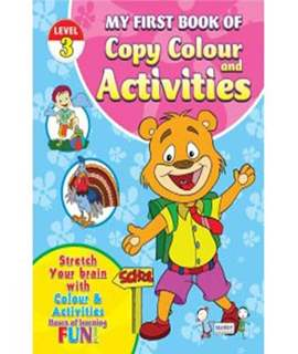 My First Book Of Copy Colour - Activities Level 3