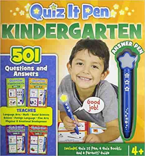 Quiz It Pen Kindergarten: 501 Questions and Answers