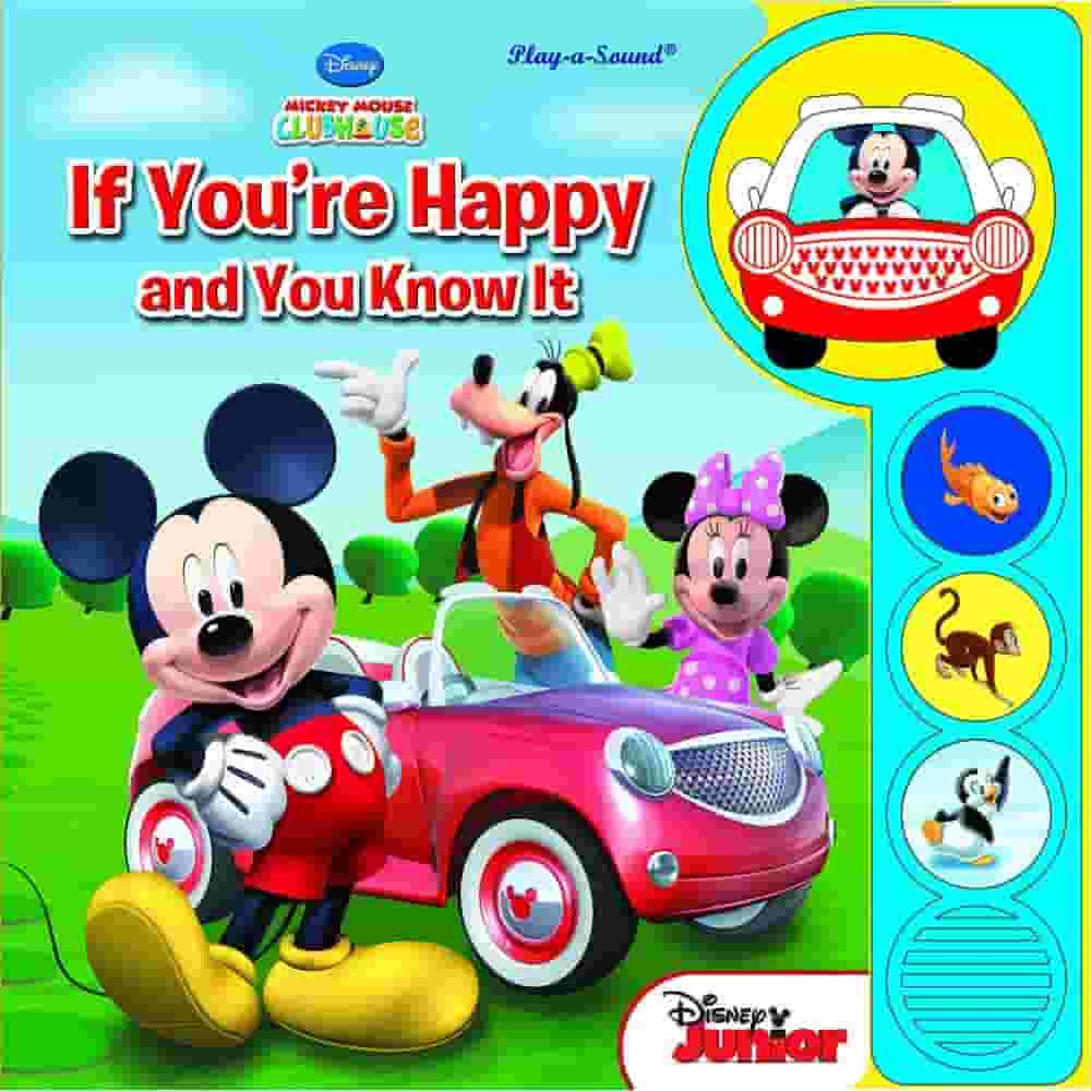 Custom Frame Sound Book Mickey Mouse Clubhouse