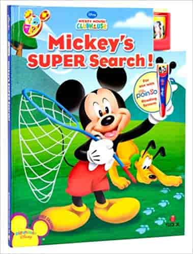 My Poingo Reading System Storybook: Mickey Mouse Clubhouse