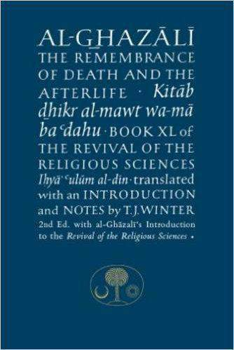 AlGhazali on the Remembrance of Death