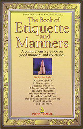 The Book Of Etiquette And Manners