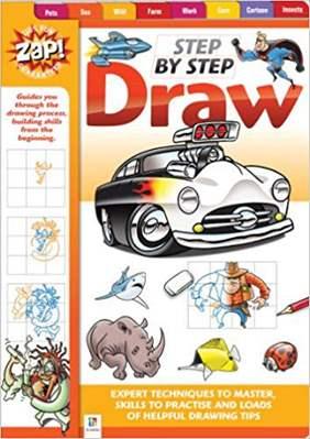 Zap Step by Step Draw